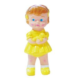 Rubber Doll-Girl Yellow