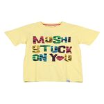 MUSHI SS TALL T W1111 STUCK ON YOU LEMON