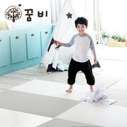 [꿈비 짱짱매트]모네 P270-그레이 /놀이방 아기매트