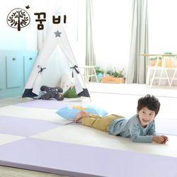 [꿈비 짱짱매트]모네 P270-퍼플 /놀이방 아기매트