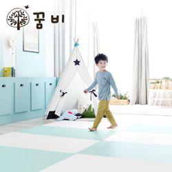 [꿈비 짱짱매트]모네 P270-민트 /놀이방 아기매트