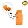 부비 다용도실리콘물병450ml(오렌지)
