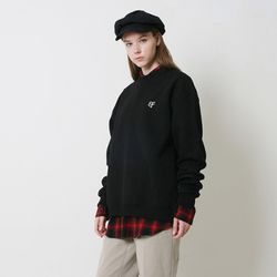 BAF LOGO BASIC CREWNECK (BLACK)