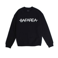 BAF AREA CREWNECK (BLACK)