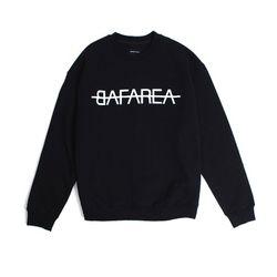BAF AREA CREWNECK (BLACK)