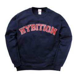Hybition Arc Logo Crewneck Navy