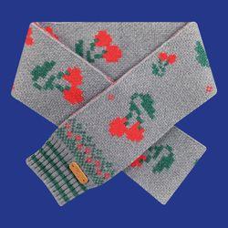 Wool-Scarf SC-003(GY)