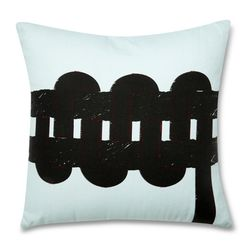 LBLUE Knit 드로잉 쿠션 커버
