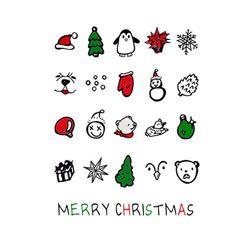 PP NAIL TATTOOS - CHRISTMAS
