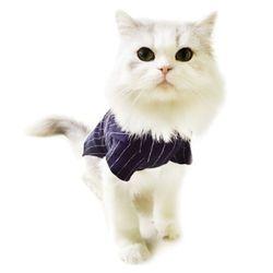 ODDLEE 베이스볼셔츠-고양이홈웨어