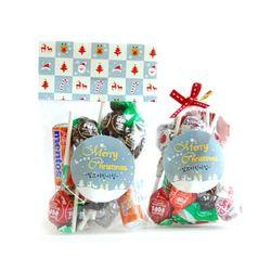 해피크리스마스 선물포장 24개셋트(봉투)