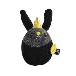 양말인형 방울토끼 블랙 루나