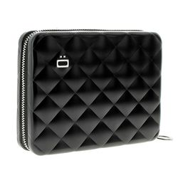 오곤 알루미늄 지갑 QP(블랙)