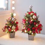 스페셜 크리스마스 트리+앵두전구 세트 60cm 완제품