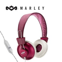 [MARLEY] Positive Vibration 헤드폰 [리모컨][퍼플]