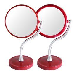 깔끔 심플한 S형 양면 화장대 거울