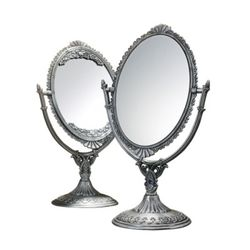 깔끔 심플한 탁상 주석 양면거울