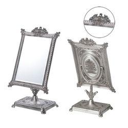 깔끔 심플한 주석 탁상 사각 거울 대