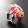 자전거 꽃무늬 벨 2종