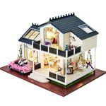 [adico]DIY 미니어처 풀하우스 - 프로방스 2층집