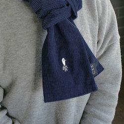 Duck CODUROY muffler - Blue