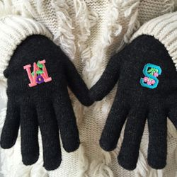 initial gloves (이니셜 선택 가능)
