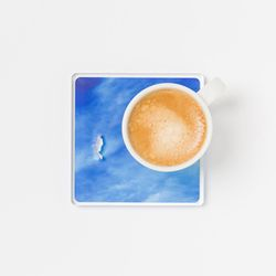 피스 오브 스카이 컵 코스터 컵받침 리빙 데코용품
