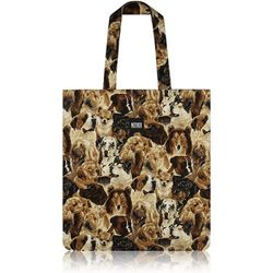 Packed Dogs Flat Tote Bag