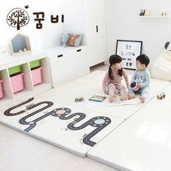 [꿈비 짱짱매트]D200-드림빌리지 도로 /놀이방 아기