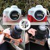 캐논 EOS 100D 부빙가원목 속사케이스(천연소가죽)
