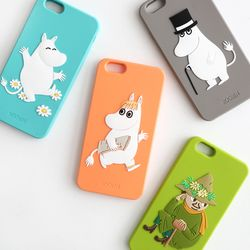 Moomin iPhone6 PLUS 6S PLUS 실리콘케이스