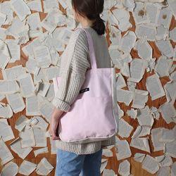 허니브레인-투톤 스타트 숄더백(pink)
