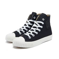 [Bata Bullets] Regular Canvas High (Black)