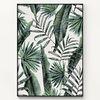 메탈 야자수 나뭇잎 액자 Tropical leaves [대형]
