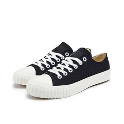 [Bata Bullets] Regular Canvas Low (Black)