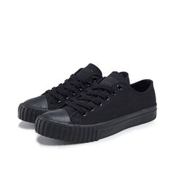 [Bata Bullets] Tone on Tone Canvas Low (Black)