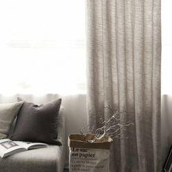 젠위브 방한커튼 웜그레이 (기본형-핀형)