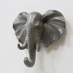 벽걸이 코끼리머리 오브제