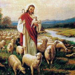 150pcs 예수와 양떼 (PL281)