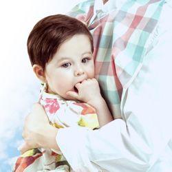 [1+1(랜덤증정)] 엄마턱받이(수유가리개 겸용)-디자인선택