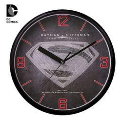 디씨코믹스 공식제품 배트맨v슈퍼맨 벽시계 DC-W4016