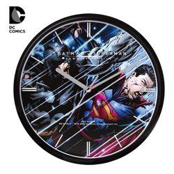 디씨코믹스 공식제품 배트맨v슈퍼맨 벽시계 DC-W4013