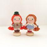 손뜨개 인형 인테리어 데코 장식 소품 - 앤 도로시