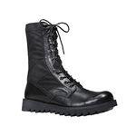 Black Ripple Sole Jungle Boots