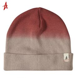 TRAVLR DIP DYED ROLLED BEANIE (Tan)