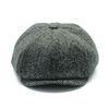 HARRIS TWEED NEWSBOY CAP 99 HERRINGBONE