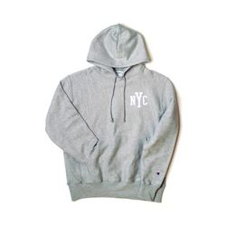 Champion USA Reverse Weave Pullover NYC (GREY)