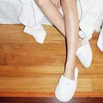 THE TOWEL SLIPPERS (WHITE)