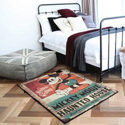 미키마우스 헌티드하우스 러그 (140x200cm)