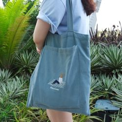 Sky Blue pocket Bag